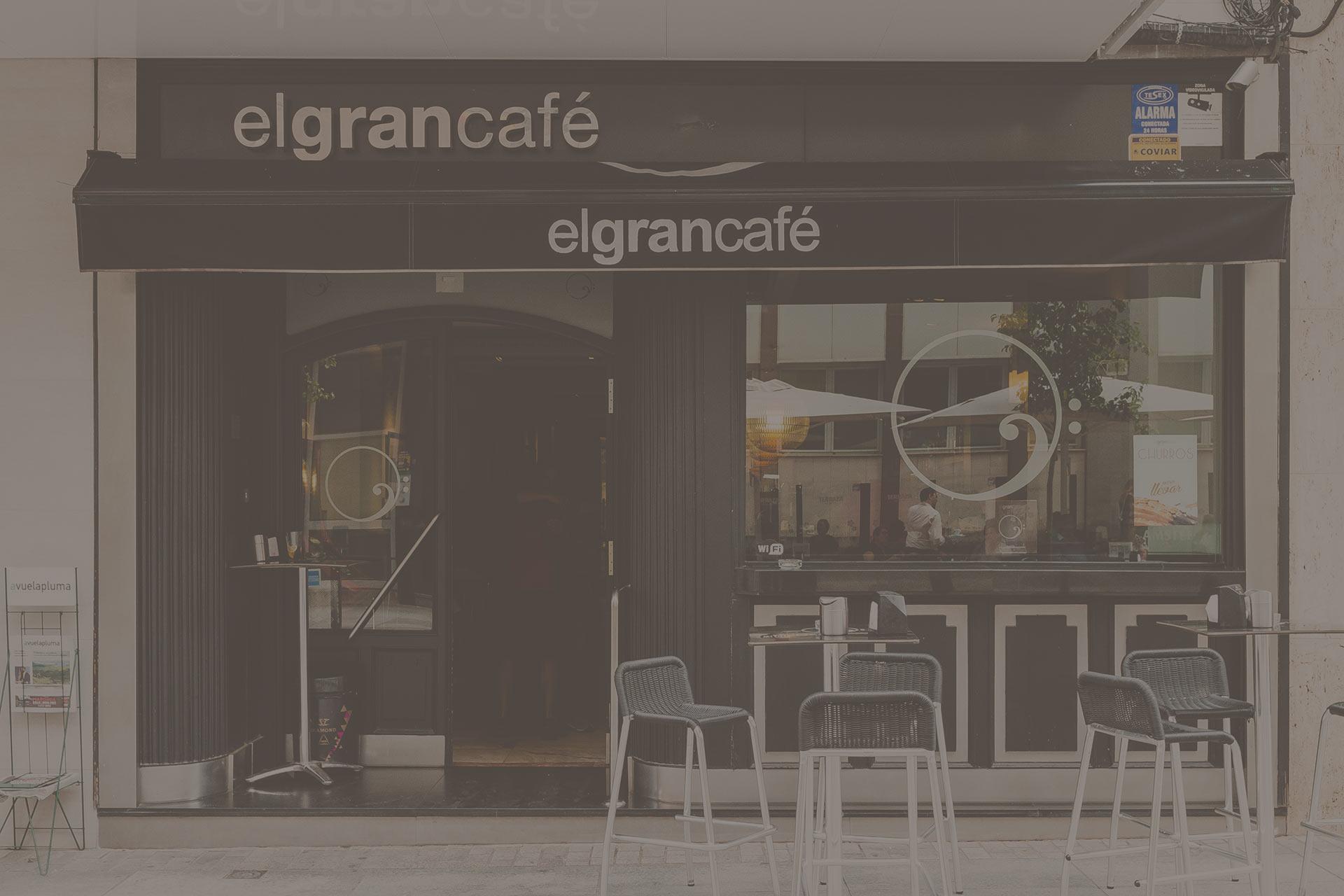 Fachada El Gran Café
