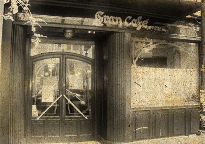 El Gran Café antiguo